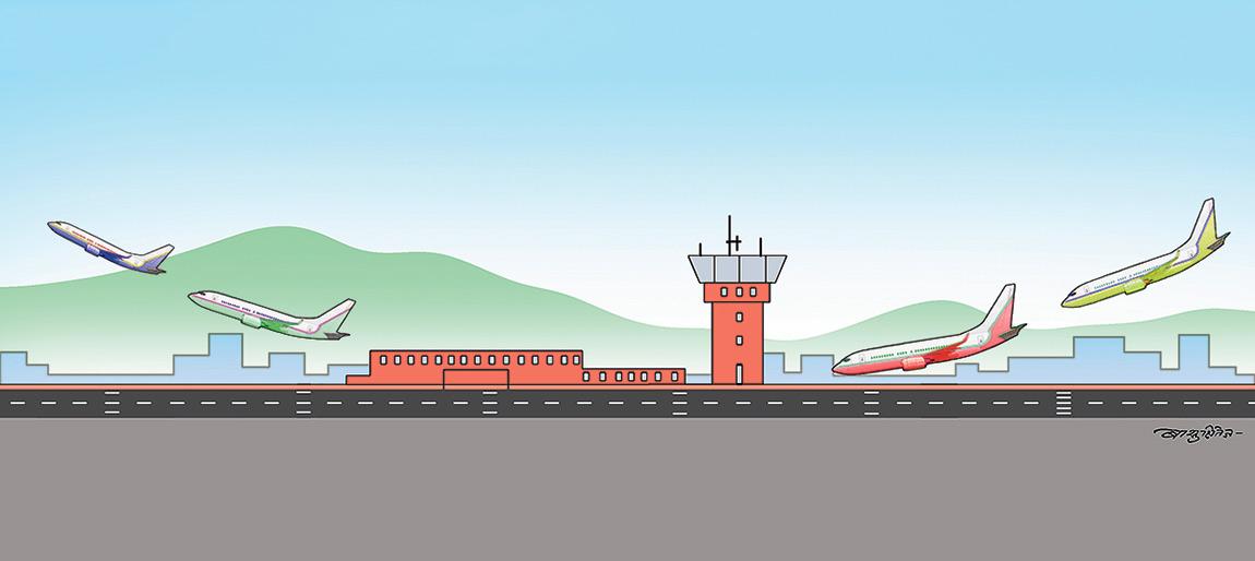आन्तरिक र बाह्य दुवै हवाई सेवा सुरु गर्ने तीव्र तयारी