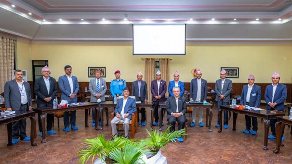 राजधानीको शान्तिसुरक्षा र व्यवस्थापन केन्द्र नेपाल सरकार मातहत रहने