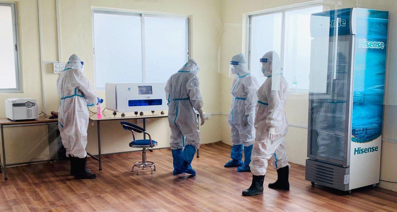 नोबेल अस्पतालमा पिसिआर परीक्षण सुरू