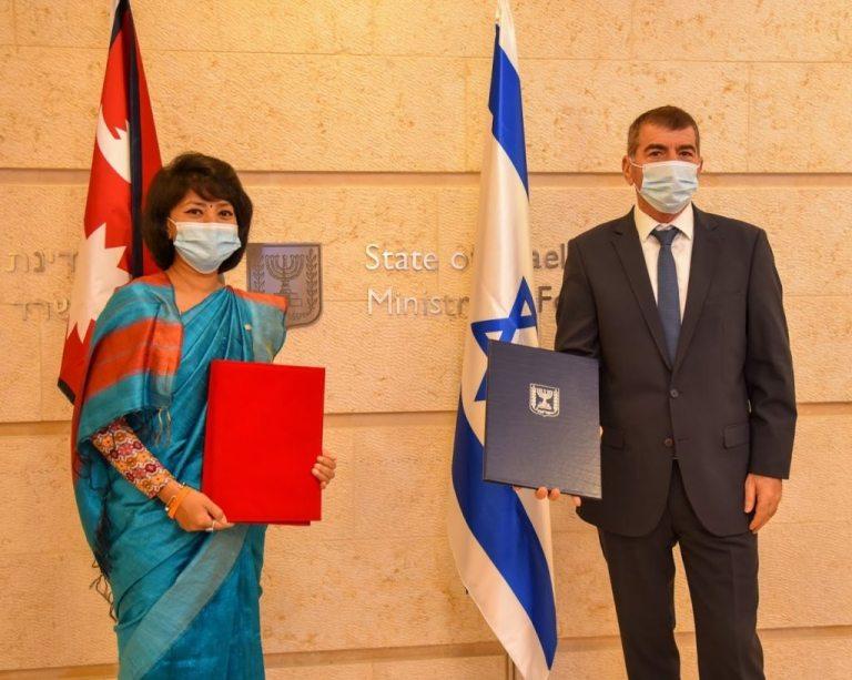 कामदार लैजान र कृषिको विकासमा  इजरायल र नेपालबीच सम्झौता