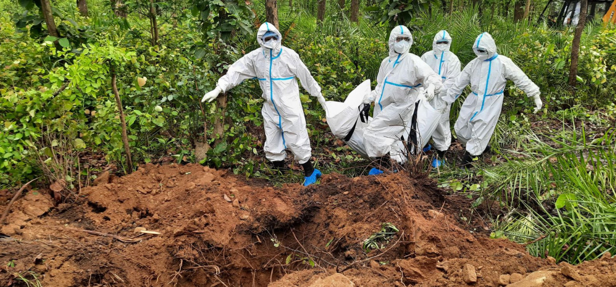 वीपी कोइराला कोभिड अस्पताल धरानमा ३ जना संक्रमितको मृत्यु