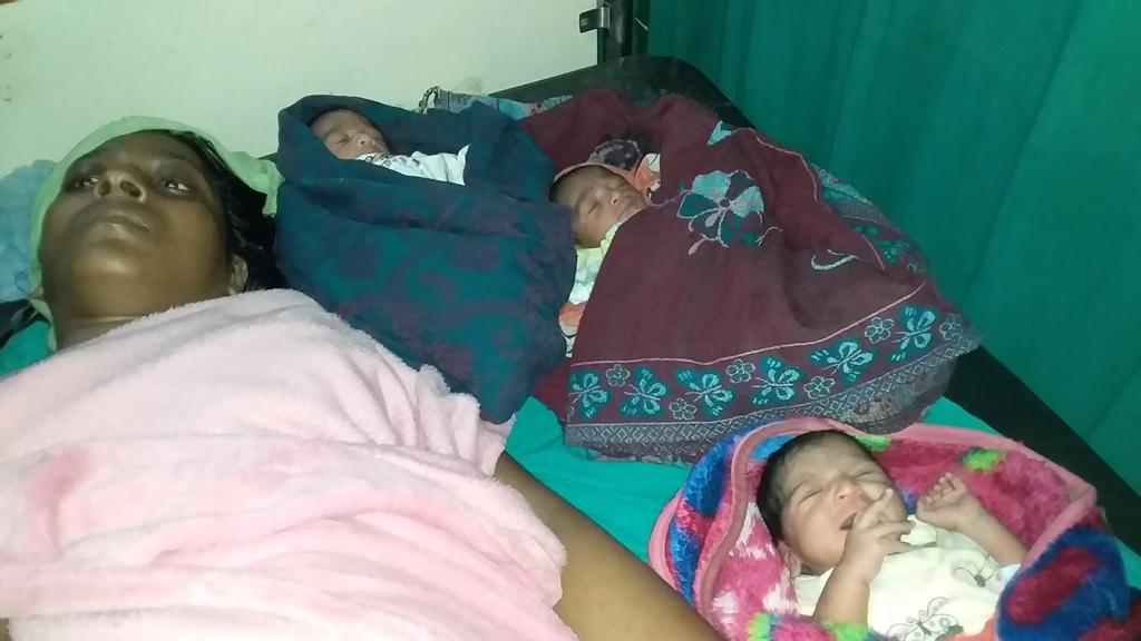 कपिलवस्तुमा शल्यक्रिया मार्फत तिम्लिया बच्चा जन्मियो