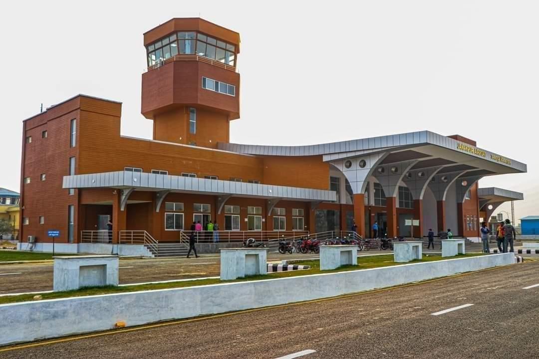 जनकपुर विमानस्थको नयाँ टर्मिनल भवन संचालन