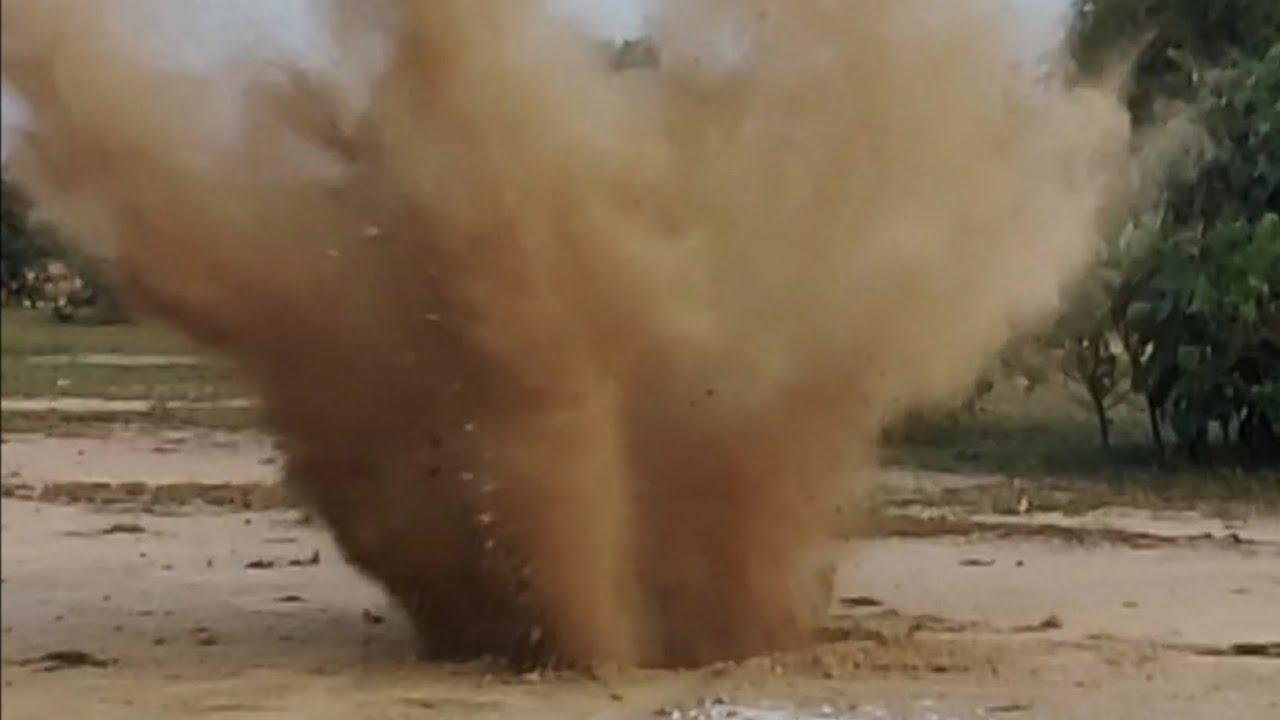 उदयपुरको क्रसर उद्योगमा बम विष्फोट