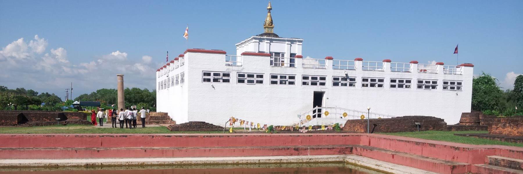 लुम्बिनीमा मायादेवी मन्दिर खुलाः पर्यटकको चहलपहल सुरु