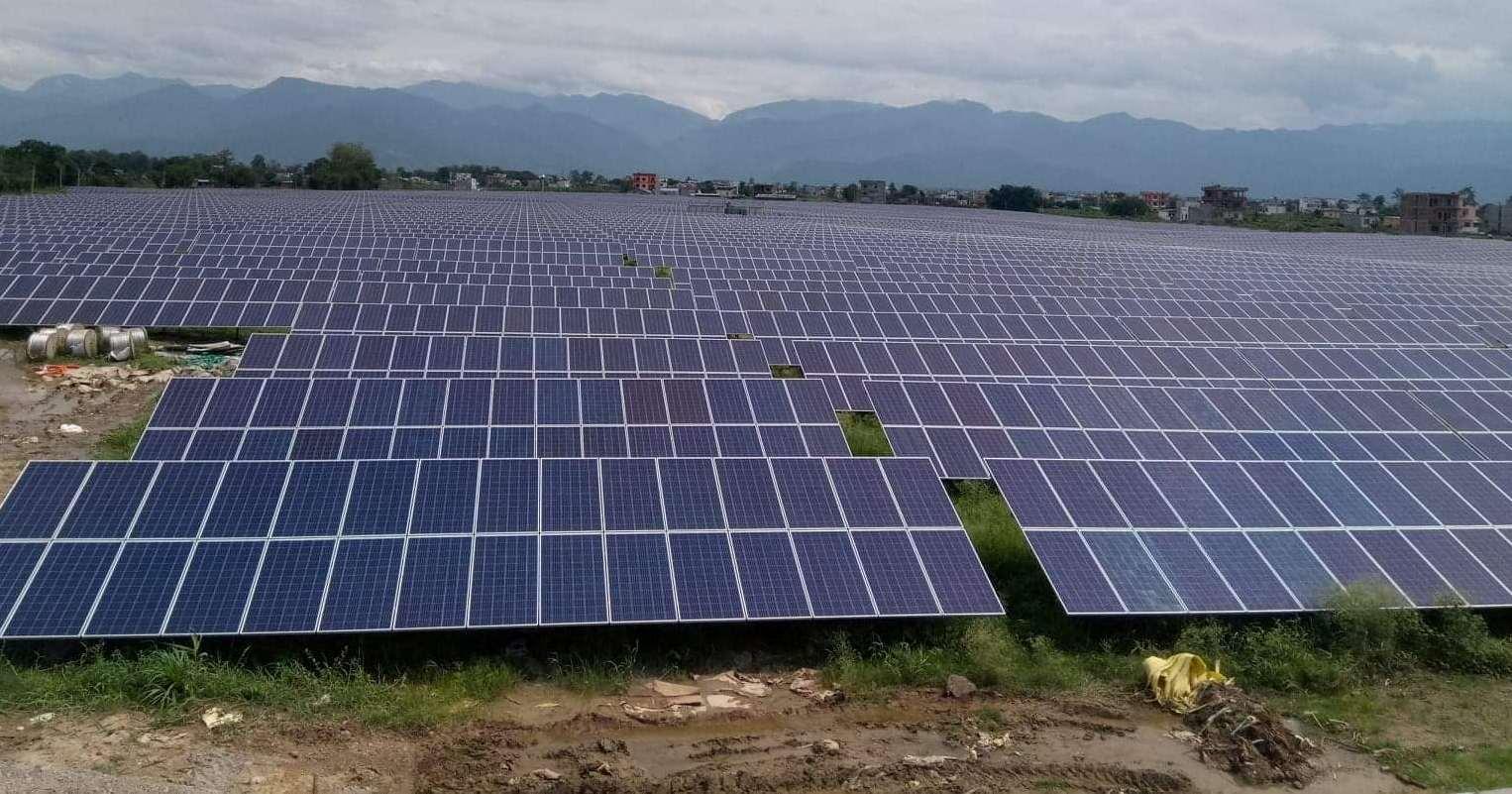 ग्रिड कनेक्टेड सोलार आयोजनाबाट ८.५ मेघावाट बिद्युत उत्पादन सुरु