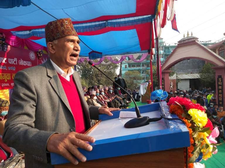 वर्तमान राजनितिक संकटको प्रमुख नायक प्रचण्डः महासचिव पौडेल