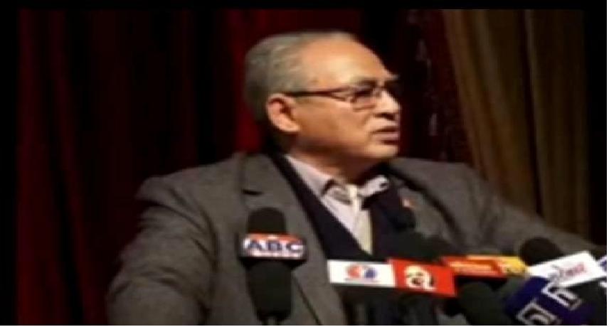 प्रचण्डको १९ बुँदे आरोप पत्रले पार्टी विभाजन गरायोः नेता बादल