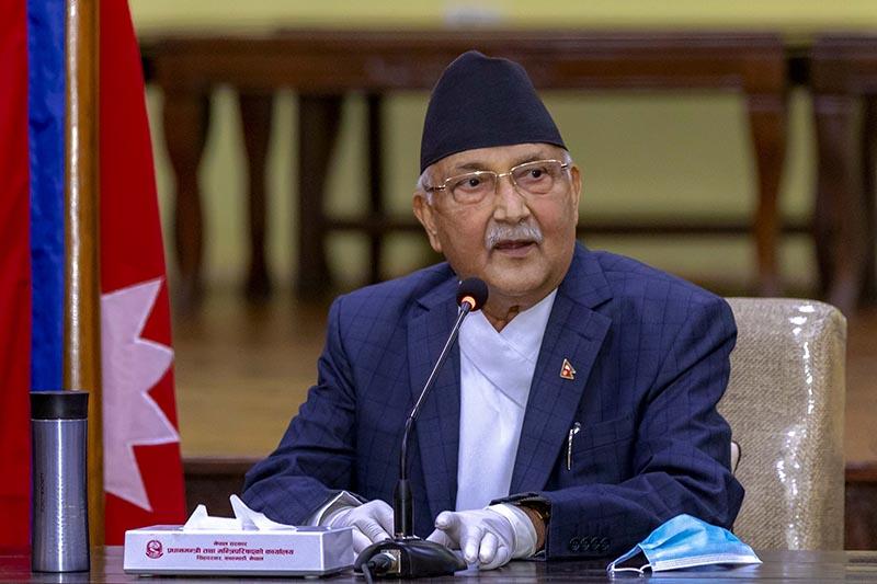 नेपाली जमीन फिर्ताबारे भारतसँग वार्ता भईरहेको छः प्रधानमन्त्री ओली
