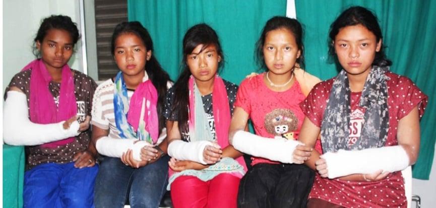 हात भाँचिने गरी विद्यार्थी कुट्ने शिक्षिकालाई ५ हजार जरिवाना र १५ दिन कैद