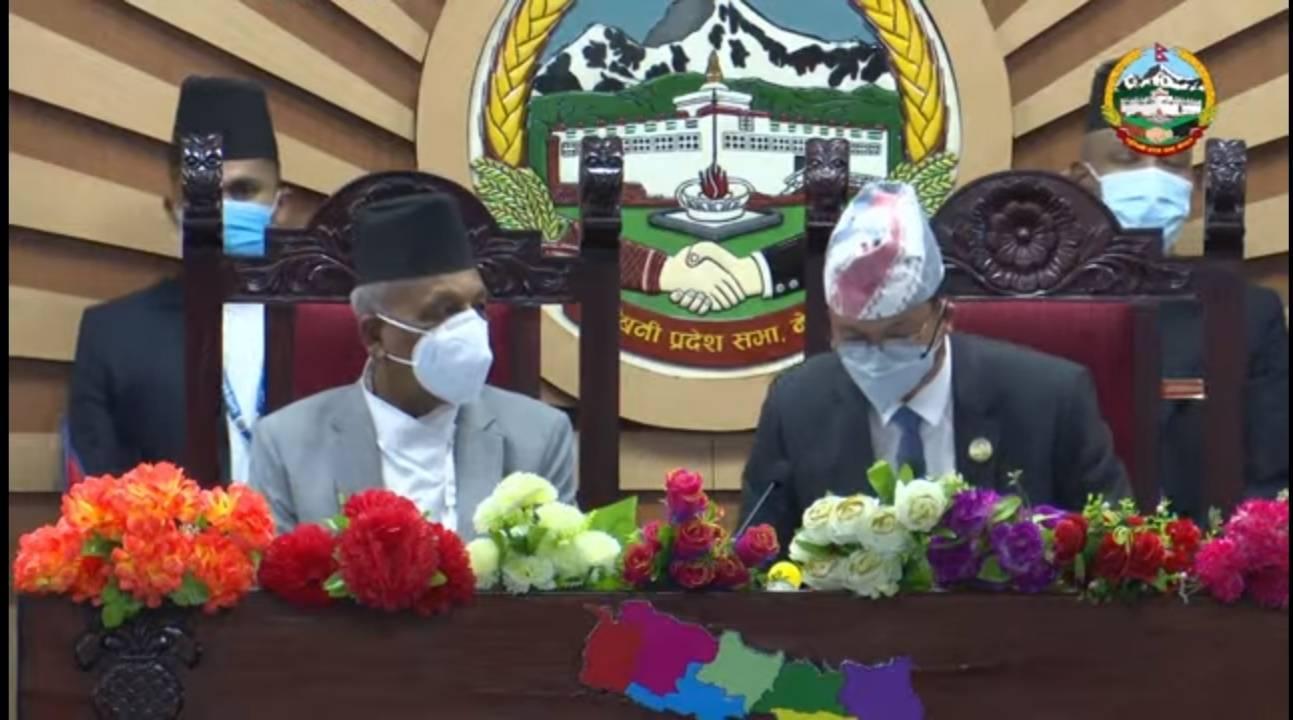 लुम्बिनी प्रदेश सरकारको नीति तथा कार्यक्रम सार्वजनिक, शिक्षा, स्वास्थ्य र कृषि क्षेत्रलाई मुख्य प्राथमिकता