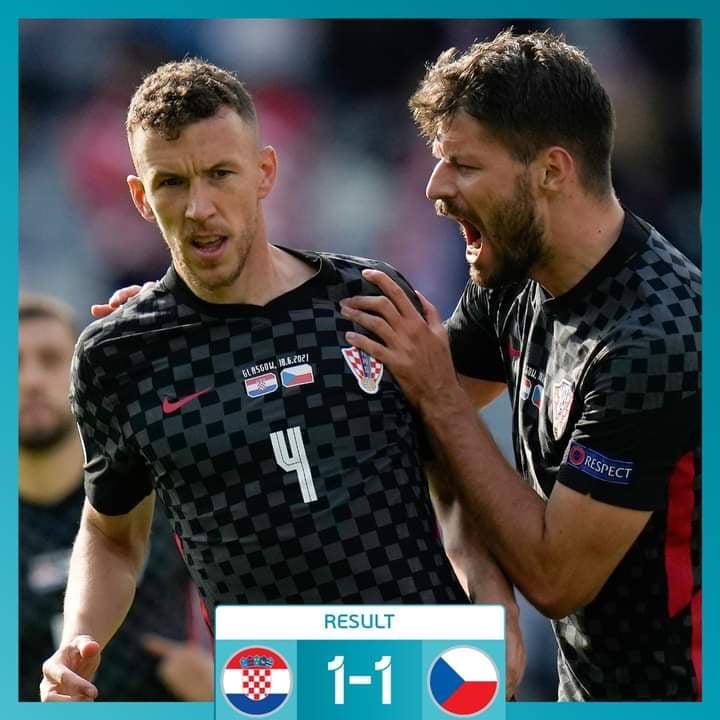 क्रोएसीया र चेक रिपब्लिक १-१ को बराबरी